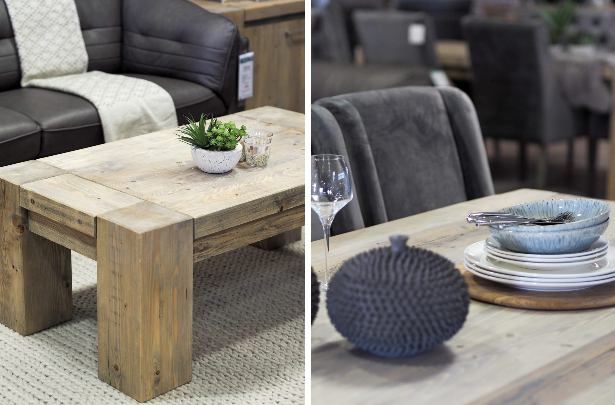 Montana Reclaimed Wood Coffee Table | Housing Units