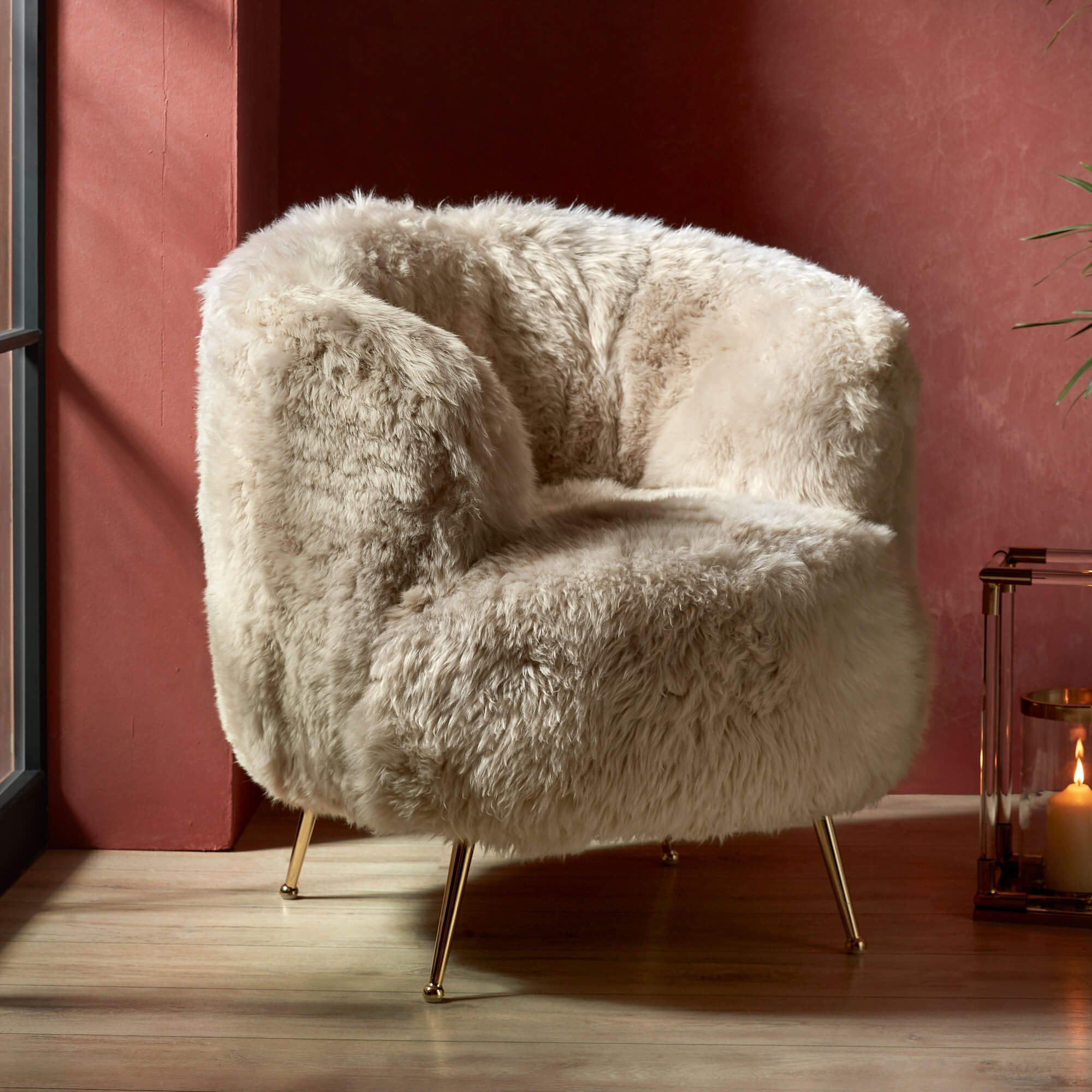 Housing Units | Home comforts - Sheepskin Accent Chair