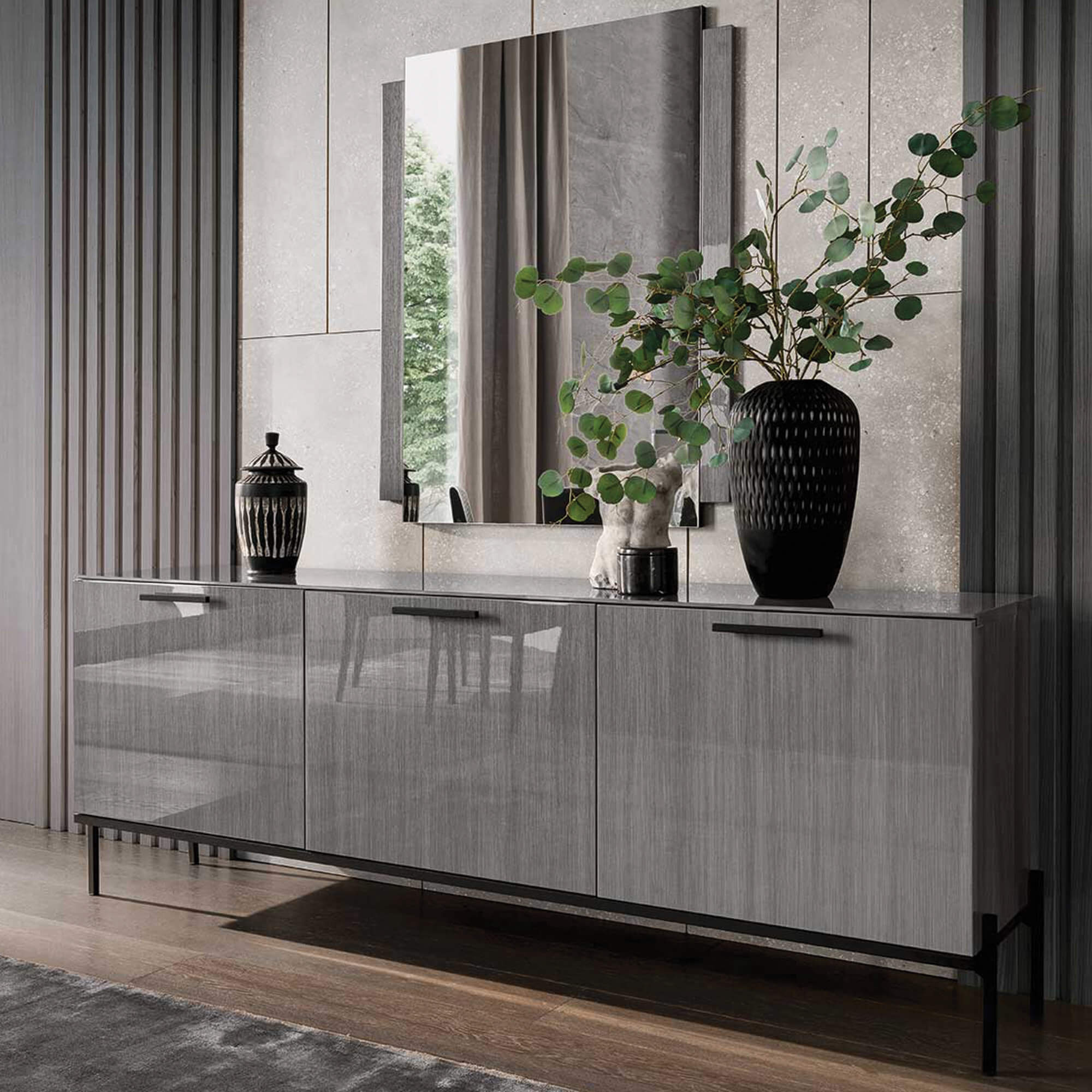 High Gloss Sideboard Cabinet- Housing Units