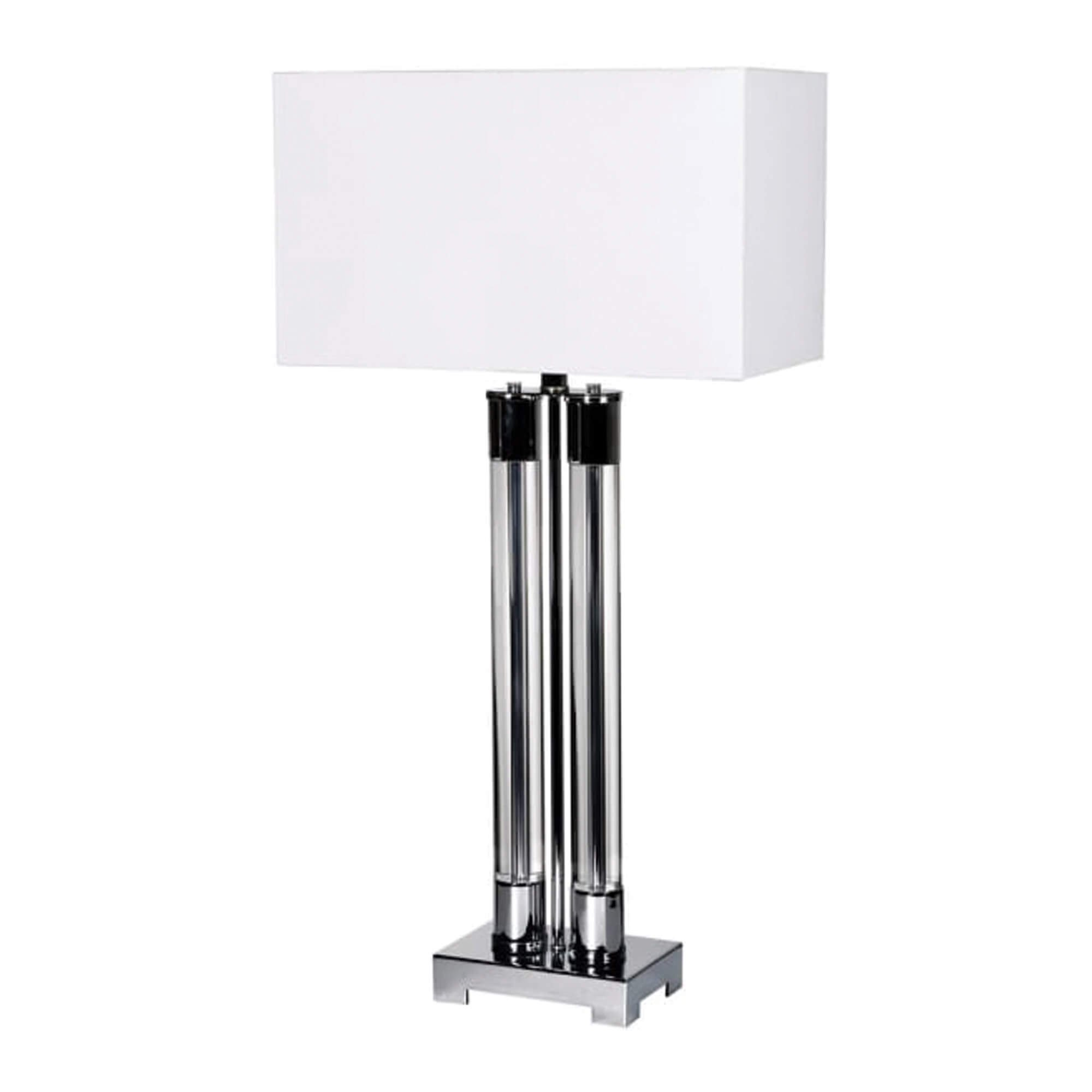 Crystal Silver Tbale Lamp- Housing Units