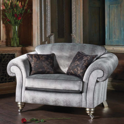 Georgia Fabric Sofa, Chair & Footstool Collection - Housing Units