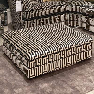 Kennedy Fabric Footstool Collection - Housing Units